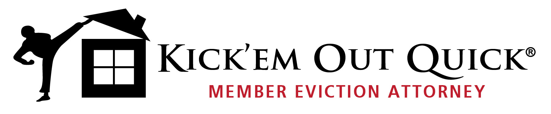 Kick Em Out Quick Member Eviction Attorney Logo 2
